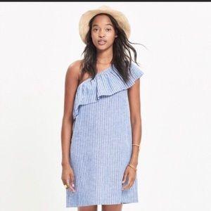 Madewell One shoulder dress
